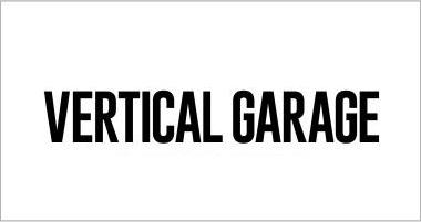 vertical garage